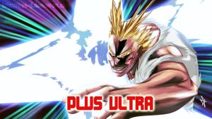 All Might - Plus Ultra by Free-D