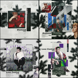 [SHARE PSD] Sehun #Elle Lay #Lose Control @EXO by SuzyKimJaeXi