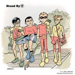 Stand By T by BillWalko