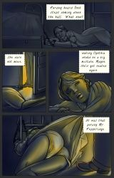Purdey.... the comic page by JustineCoyne