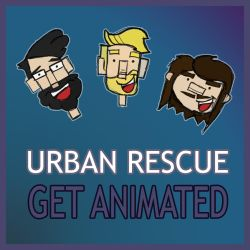 Cartoon of Urban Rescue Band by CampingGrounds