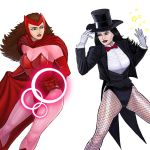 Player Select: Scarlet Witch VS Zatanna by Garoooooh