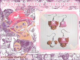 Chopper Earrings by AyumiDesign