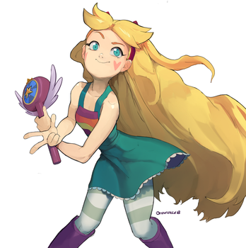 Star Butterfly by Chilimanic
