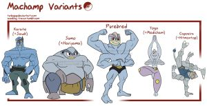 PKMN- Machamp variations