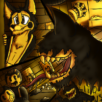 This is truly who Bendy is (BATIM Contest) by Sypro123a