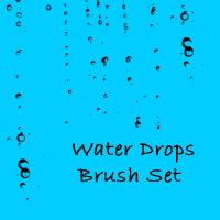 Water Drops Brush Set by eMelody