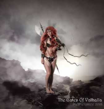 The Gates Of Valhalla by MelFeanen