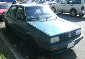 Forest Green VW Jetta by Mister-Lou