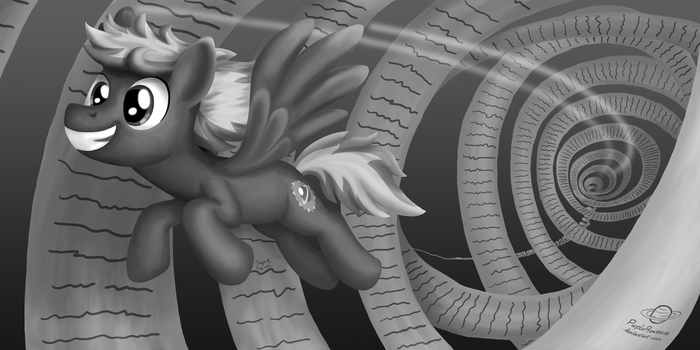 Scrolls of Prowess (Grayscale) by PurpleProwess48