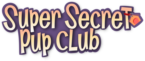 Super Secret Pup Club Logo by ParaPups