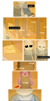 R E S E T (undertale comic) by atenahena