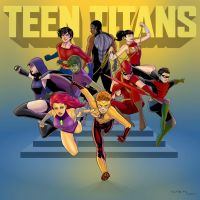 Teen Titans by arunion