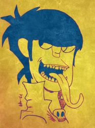 Murdoc 2nd version  by Maghero