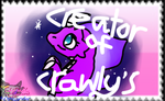 My Crawly's Stamp by AngelCnderDream14