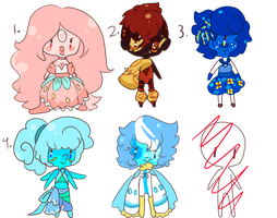 Random Gem Adopts - 60 points - CLOSED by Manateacup
