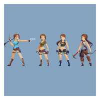 Evolution of Lara by HendryRoesly