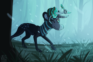 Through the Forest by Solminol