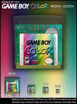 Gameboy Color Only Rom Icons by Alforata