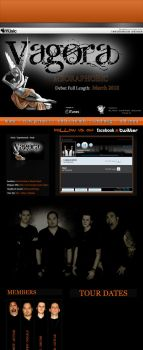 Vagora myspace by influenceddesign