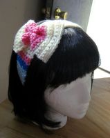 Sylveon inspired head band by CrafterOfManyThings