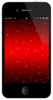 Heart iPhone Wallpapers by Janaka86