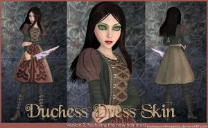 A:MR Skin - Duchess Dress by EvanescentAngel666