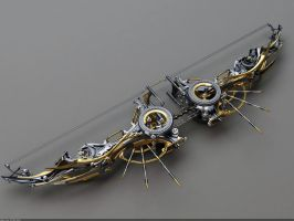 Heretic Composite Bow: Top view by Samouel