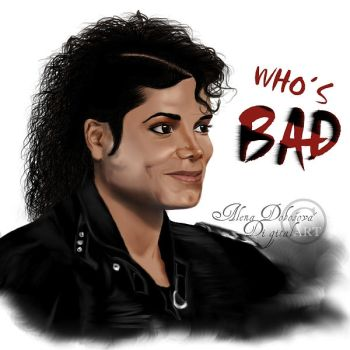 BAD Michael by aledobo