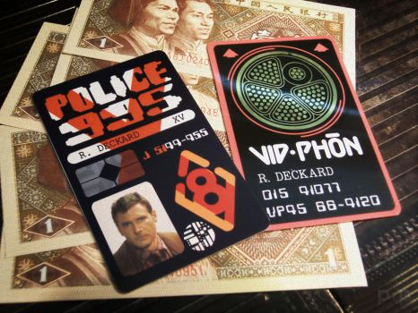 Blade Runner - Deckard's Wallet by P2Pproductions
