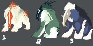 Some Species Adopts (Closed) by Quadrupedal