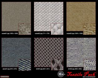 Macro Textile Pack -tiled by JayL-stock