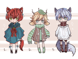 |CLOSED|Cosy Fall Adopts -OTA by Nommyo