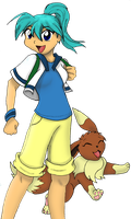 PKMN Trainer Larena by Sonic-Freak