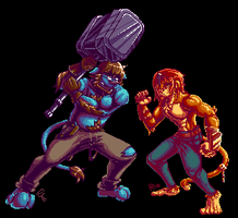 Pixel Fighters by Omegaro