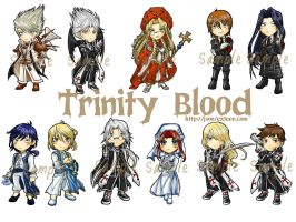 My trinity Blood Key ring by juonkung