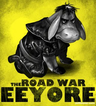 Road War eeyore by JeffVictor