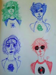 Homestuck? On my page? by Thriller-Killer13