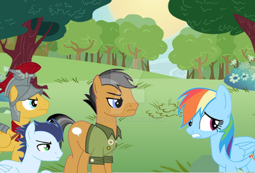 Who is it going to be, Rainbow Dash? by tobizgirl