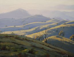 Megalong Valley Hills by artsaus