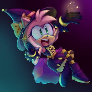 Amy The Witch [SpeedPaint] by CuteyTCat