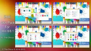 iHoli Skinpack Win8/8.1 by TheDhruv