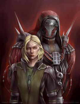 Darth Marr and Lana Beniko by Vixen11