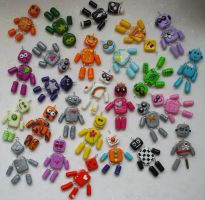 PORGE ROBOT ARMY by PORGEcreations