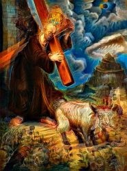 Christopher Ulrich deepdreamed by DonkehSalad23