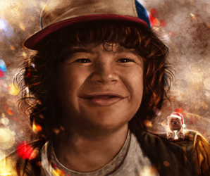 Stranger Things - Dustin by p1xer