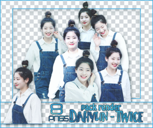 [PACK RENDER #70] 8 PNGS DAHYUN - TWICE by RinYHEnt