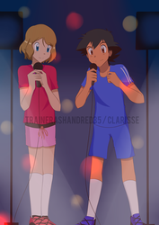 CM : Amourshipping Karaoke Fun by TrainerAshandRed35