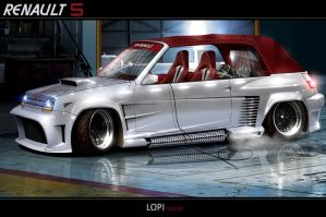 Renault 5 by Lopi-42