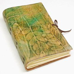 The Book with leaves by gildbookbinders